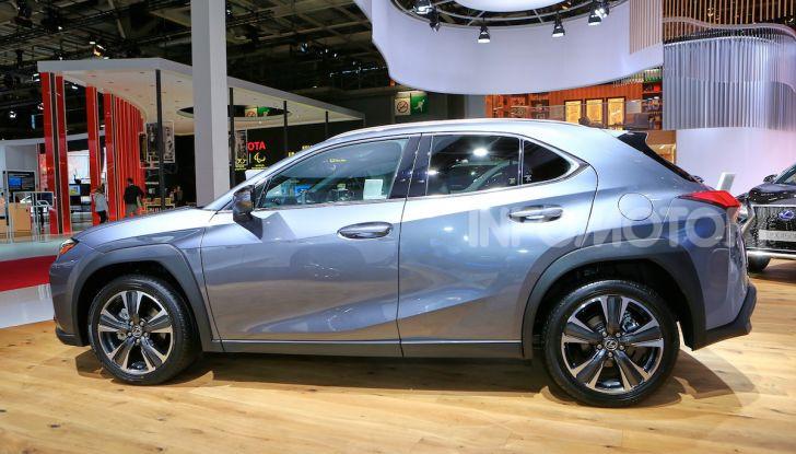 Lexus UX 2018, il crossover cittadino del marchio nipponico - Foto 6 di 13