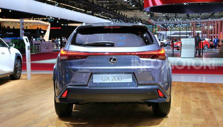 Lexus UX 2018, il crossover cittadino del marchio nipponico - Foto 8 di 13