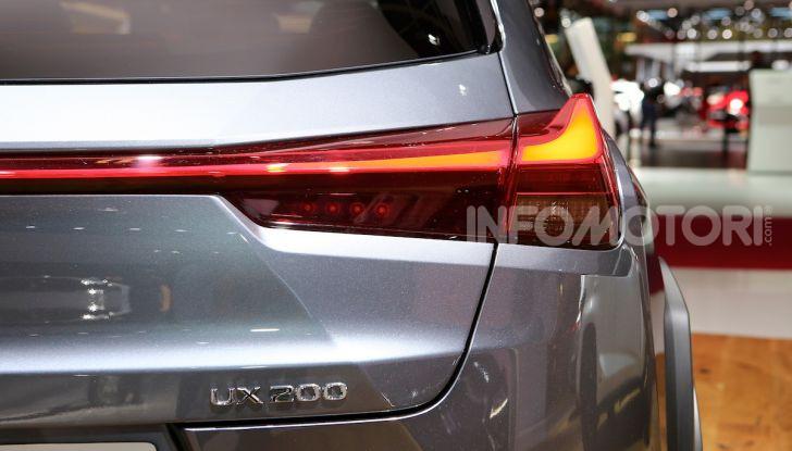 Lexus UX 2018, il crossover cittadino del marchio nipponico - Foto 9 di 13
