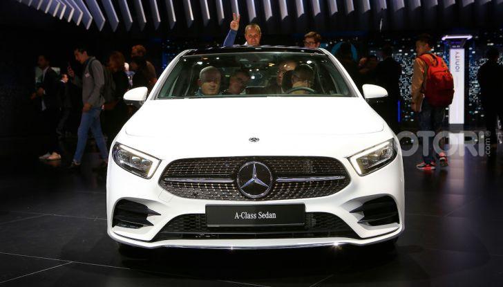 Nuova Mercedes Classe A Berlina 2018: Informazioni, motori e caratteristiche - Foto 2 di 11