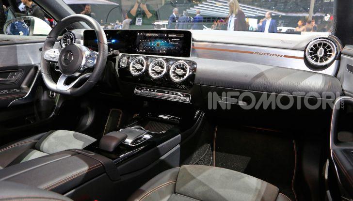 Nuova Mercedes Classe A Berlina 2018: Informazioni, motori e caratteristiche - Foto 11 di 11