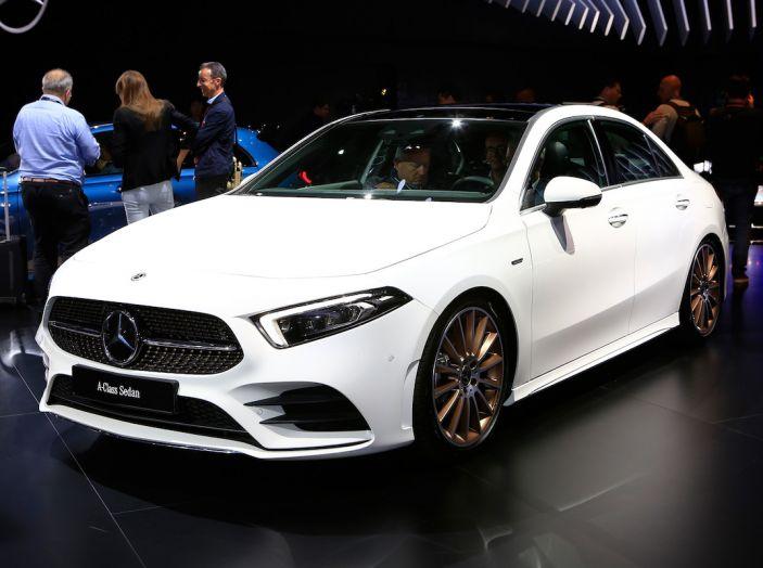 Nuova Mercedes Classe A Berlina 2018: Informazioni, motori e caratteristiche