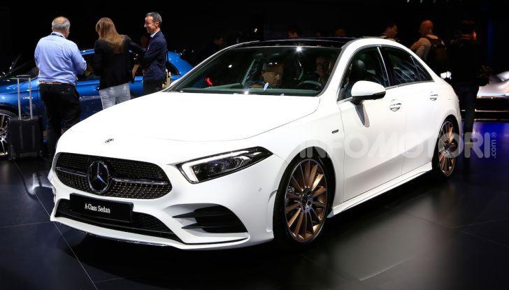Nuova Mercedes Classe A Berlina 2018: Informazioni, motori e caratteristiche - Foto 1 di 11