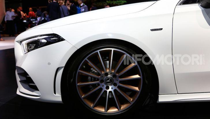Nuova Mercedes Classe A Berlina 2018: Informazioni, motori e caratteristiche - Foto 3 di 11