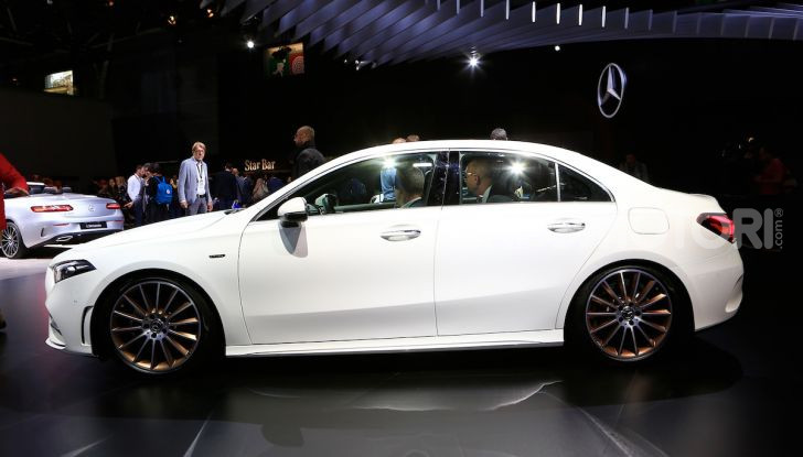 Nuova Mercedes Classe A Berlina 2018: Informazioni, motori e caratteristiche - Foto 4 di 11