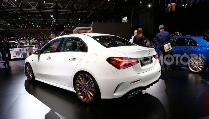 Nuova Mercedes Classe A Berlina 2018: Informazioni, motori e caratteristiche - Foto 5 di 11