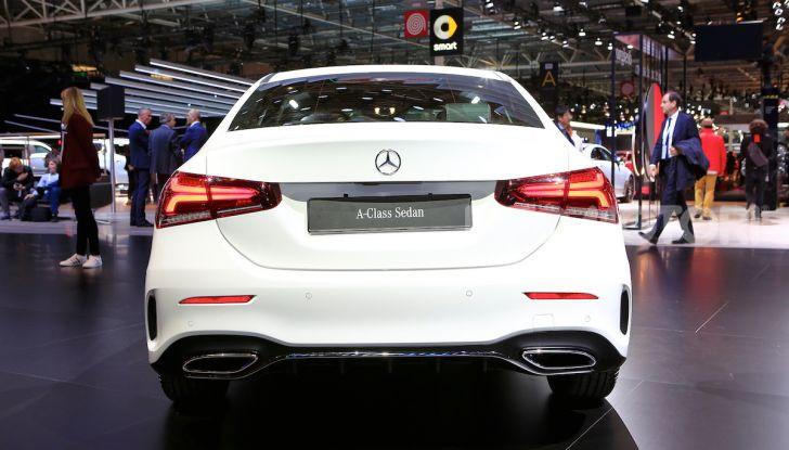 Nuova Mercedes Classe A Berlina 2018: Informazioni, motori e caratteristiche - Foto 6 di 11