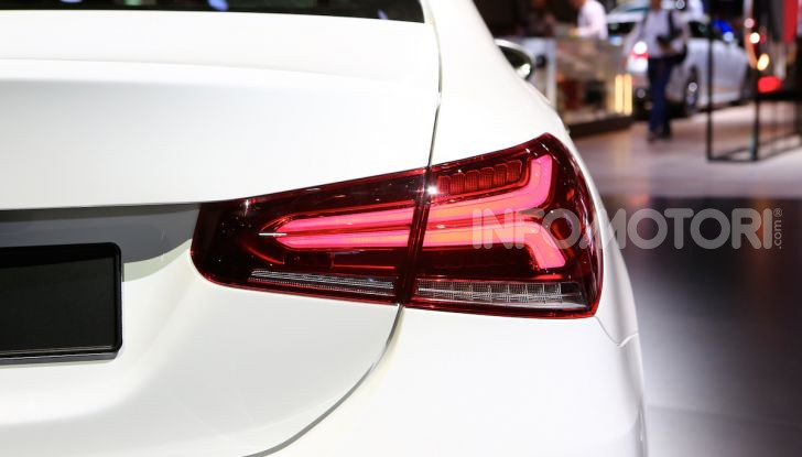 Nuova Mercedes Classe A Berlina 2018: Informazioni, motori e caratteristiche - Foto 7 di 11