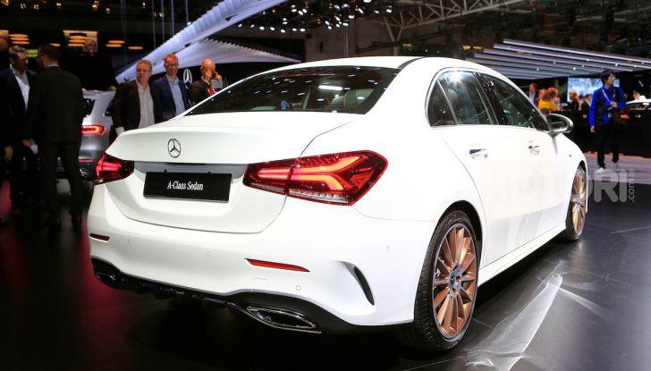 Nuova Mercedes Classe A Berlina 2018: Informazioni, motori e caratteristiche - Foto 8 di 11