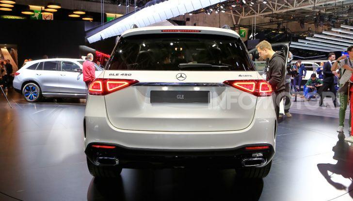 Mercedes-Benz GLE 2019: nuovi motori, tecnologia di riferimento e comfort superlativo - Foto 17 di 24