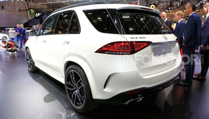 Mercedes-Benz GLE 2019: nuovi motori, tecnologia di riferimento e comfort superlativo - Foto 22 di 24