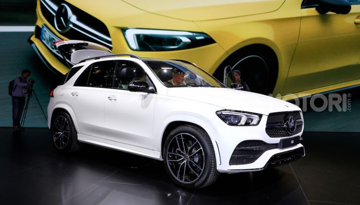 Mercedes-Benz GLE 2019: nuovi motori, tecnologia di riferimento e comfort superlativo - Foto 1 di 24