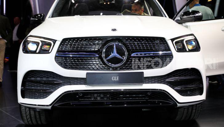 Mercedes-Benz GLE 2019: nuovi motori, tecnologia di riferimento e comfort superlativo - Foto 2 di 24