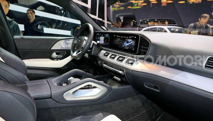 Mercedes-Benz GLE 2019: nuovi motori, tecnologia di riferimento e comfort superlativo - Foto 14 di 24