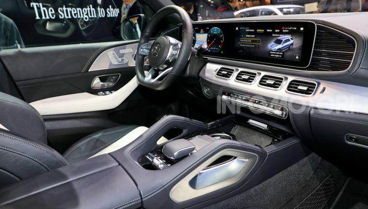 Mercedes-Benz GLE 2019: nuovi motori, tecnologia di riferimento e comfort superlativo - Foto 24 di 24