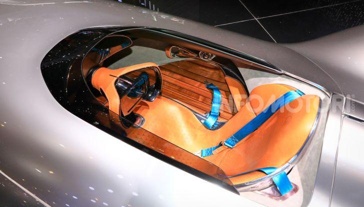 Mercedes Vision EQ Silver Arrow Concept - Foto 12 di 24