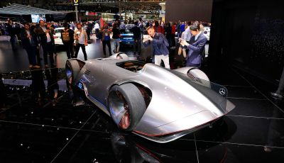 Mercedes Vision EQ Silver Arrow Concept