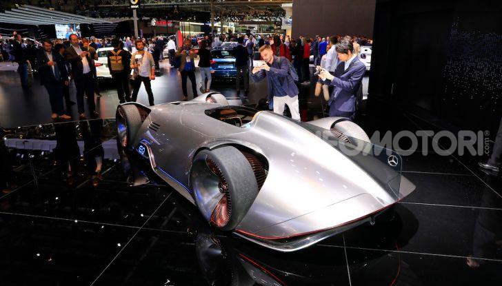 Mercedes Vision EQ Silver Arrow Concept - Foto 1 di 24