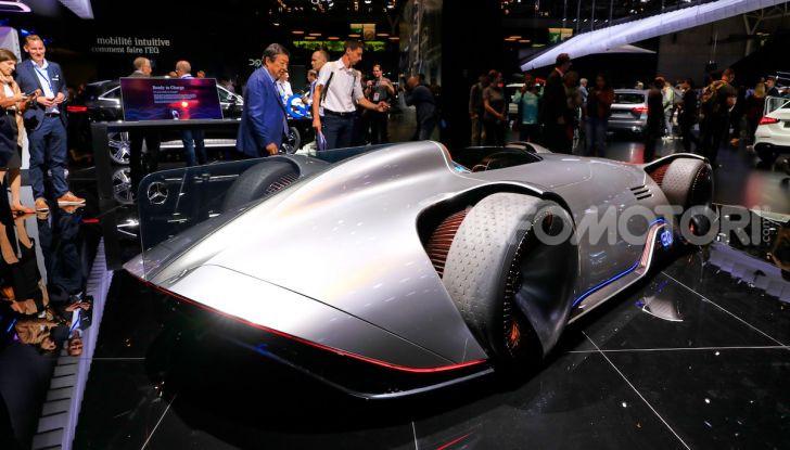 Mercedes Vision EQ Silver Arrow Concept - Foto 5 di 24