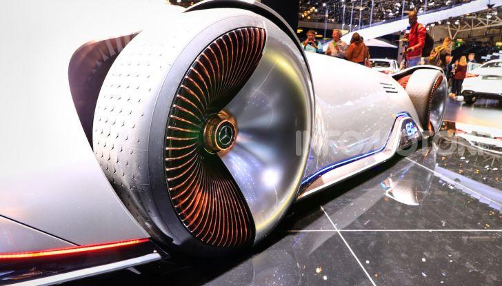 Mercedes Vision EQ Silver Arrow Concept - Foto 22 di 24