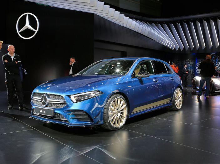 Nuova Mercedes-AMG A 35 4MATIC