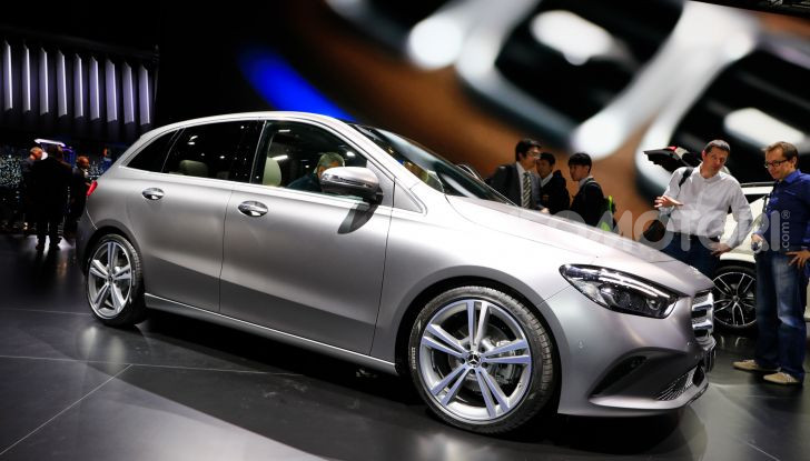 Mercedes Classe B 2019: più sportiva e tecnologica, ancora accogliente - Foto 10 di 20