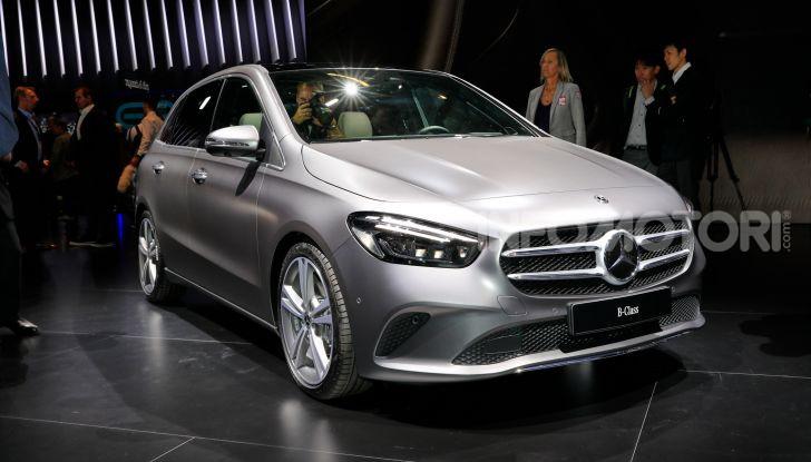Mercedes Classe B 2019: più sportiva e tecnologica, ancora accogliente - Foto 1 di 20