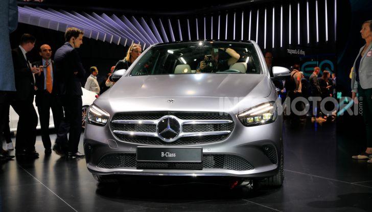 Mercedes Classe B 2019: più sportiva e tecnologica, ancora accogliente - Foto 5 di 20