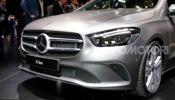 Mercedes Classe B 2019: più sportiva e tecnologica, ancora accogliente - Foto 2 di 20