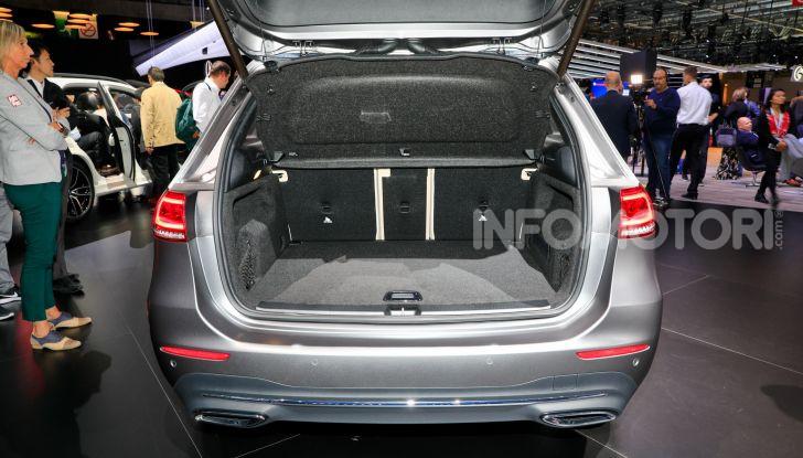 Mercedes Classe B 2019: più sportiva e tecnologica, ancora accogliente - Foto 16 di 20
