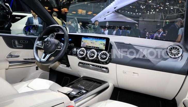 Mercedes Classe B 2019: più sportiva e tecnologica, ancora accogliente - Foto 17 di 20