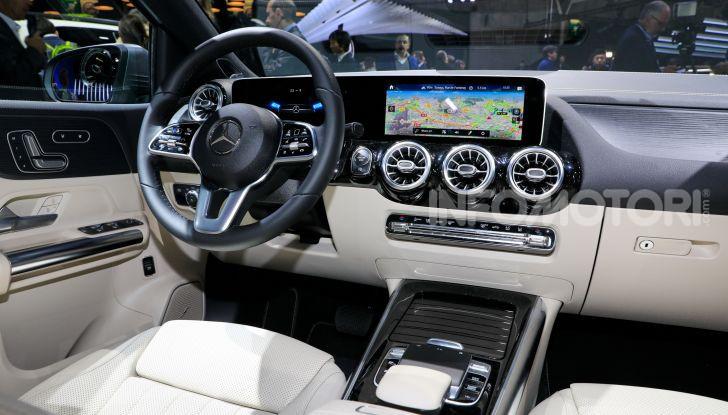 Mercedes Classe B 2019: più sportiva e tecnologica, ancora accogliente - Foto 18 di 20