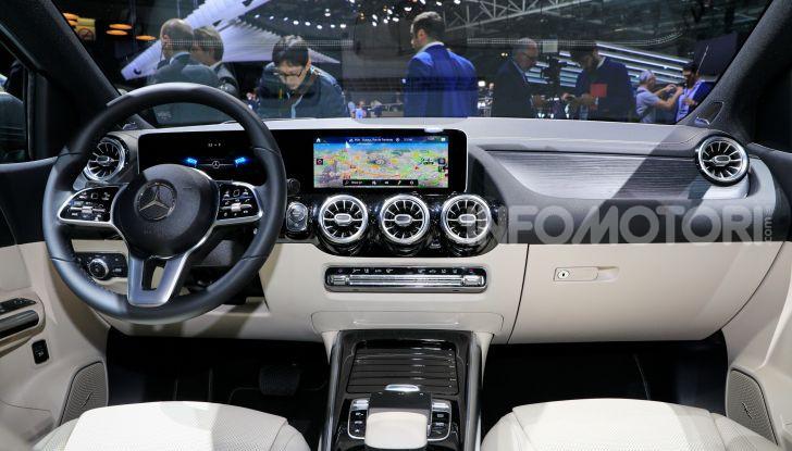 Mercedes Classe B 2019: più sportiva e tecnologica, ancora accogliente - Foto 4 di 20