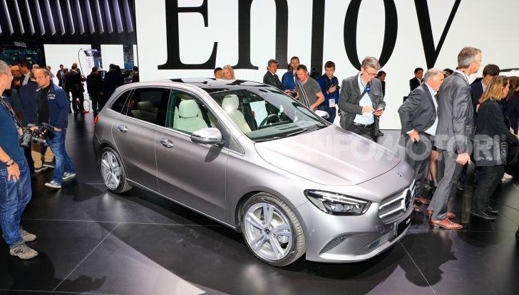 Mercedes Classe B 2019: più sportiva e tecnologica, ancora accogliente - Foto 19 di 20