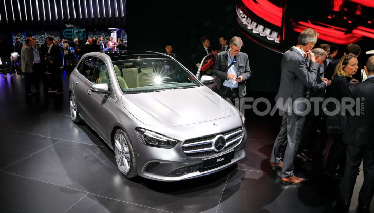 Mercedes Classe B 2019: più sportiva e tecnologica, ancora accogliente - Foto 8 di 20