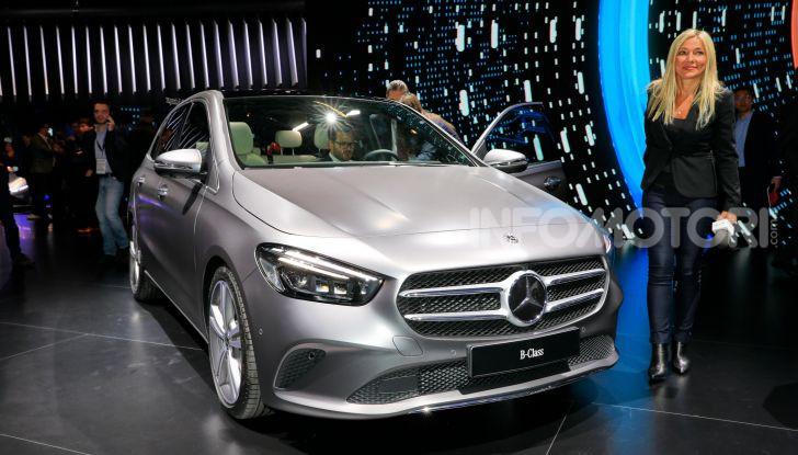 Mercedes Classe B 2019: più sportiva e tecnologica, ancora accogliente - Foto 9 di 20