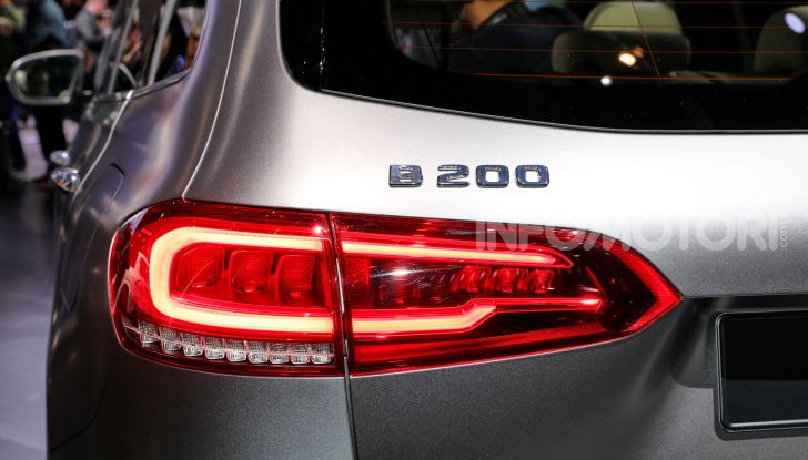 Mercedes Classe B 2019: più sportiva e tecnologica, ancora accogliente - Foto 11 di 20