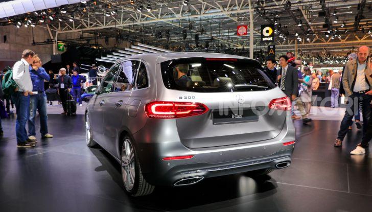 Mercedes Classe B 2019: più sportiva e tecnologica, ancora accogliente - Foto 12 di 20