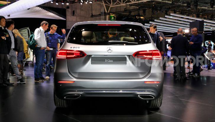 Mercedes Classe B 2019: più sportiva e tecnologica, ancora accogliente - Foto 13 di 20