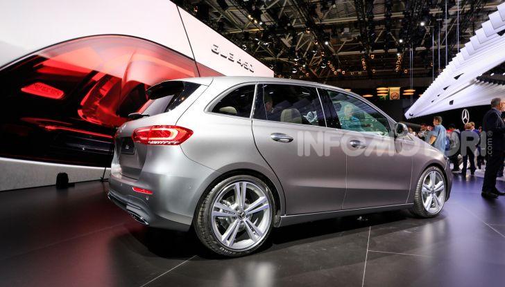 Mercedes Classe B 2019: più sportiva e tecnologica, ancora accogliente - Foto 3 di 20