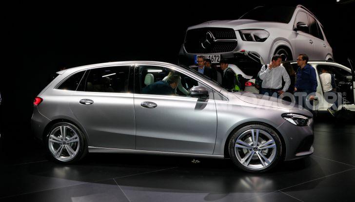 Mercedes Classe B 2019: più sportiva e tecnologica, ancora accogliente - Foto 15 di 20