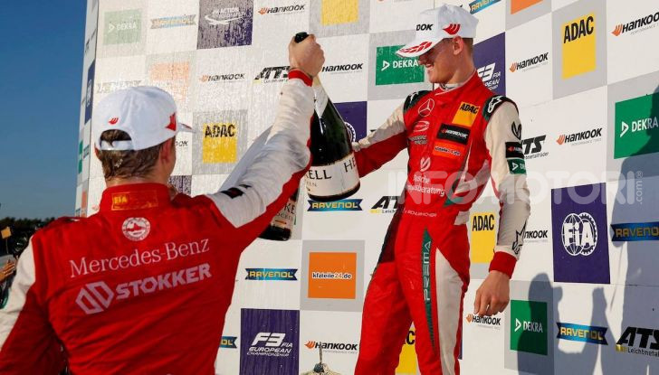 Nel nome del padre: Mick Schumacher è Campione di Formula 3 - Foto 19 di 28