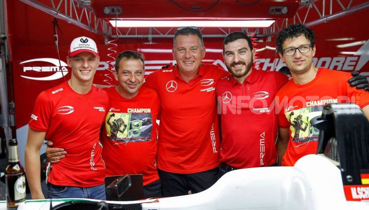 Nel nome del padre: Mick Schumacher è Campione di Formula 3 - Foto 27 di 28