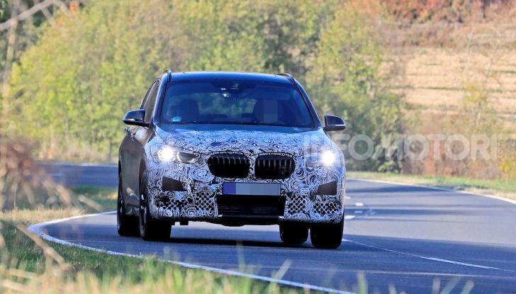 Nuova BMW X1, proseguono i test della futura generazione - Foto 3 di 24