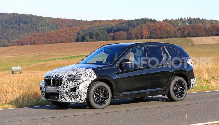 Nuova BMW X1, proseguono i test della futura generazione - Foto 13 di 24