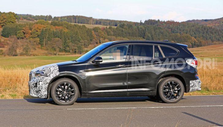 Nuova BMW X1, proseguono i test della futura generazione - Foto 4 di 24