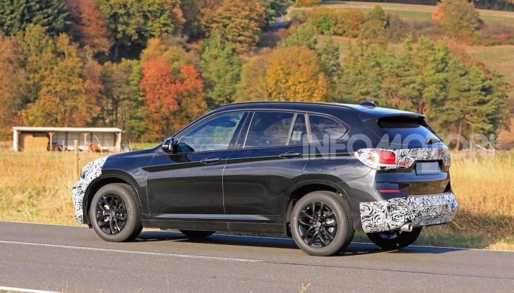 Nuova BMW X1, proseguono i test della futura generazione - Foto 14 di 24