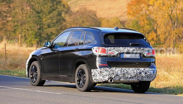 Nuova BMW X1, proseguono i test della futura generazione - Foto 15 di 24