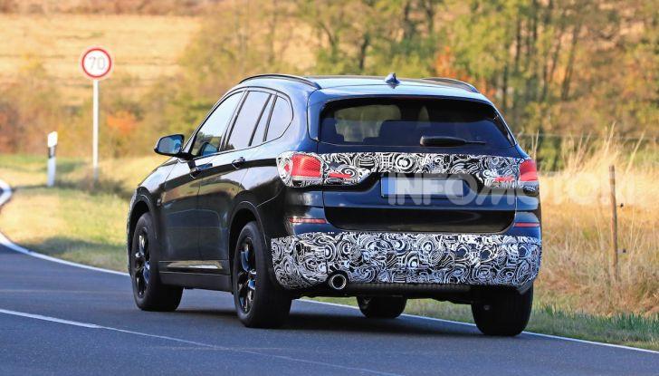 Nuova BMW X1, proseguono i test della futura generazione - Foto 16 di 24