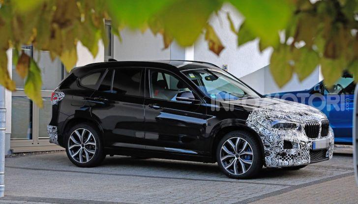 Nuova BMW X1, proseguono i test della futura generazione - Foto 17 di 24